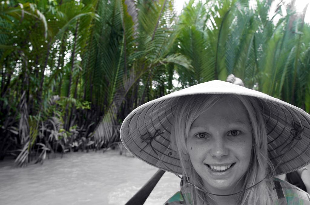 Agness of eTramping.com Mekong Delta