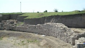 The Viminacium Amphitheater, Serbia