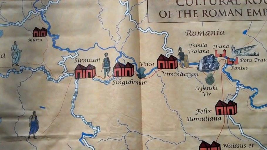 The itinerarium Romanum Serbiae