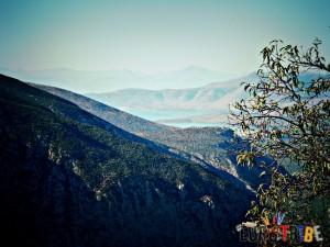Archaeological site of Delphi landscape