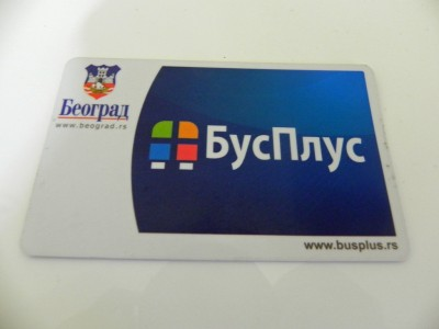 BusPlus Non-personalized smart card