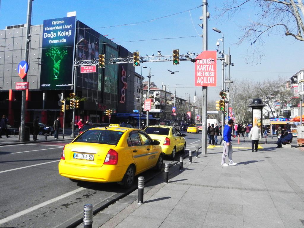 Bagdat avenue Istanbul