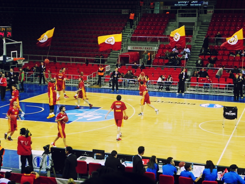 Galatasary basketball team
