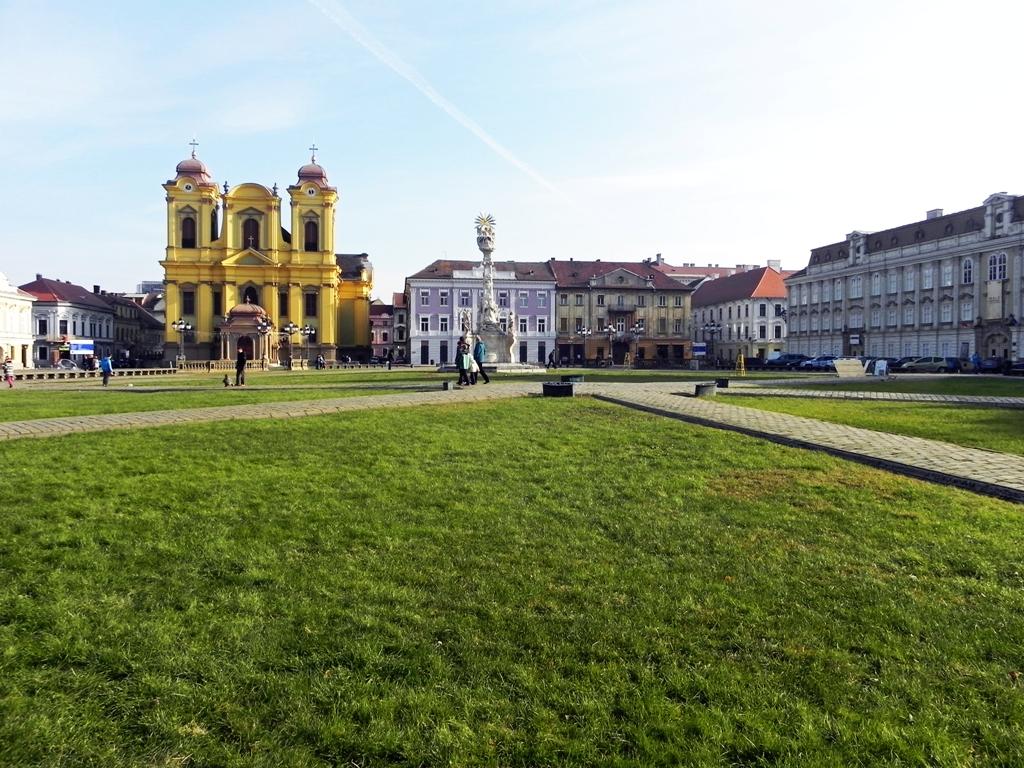 Unirii square Timisoara