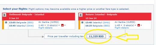 airserbia belgrade istanbul