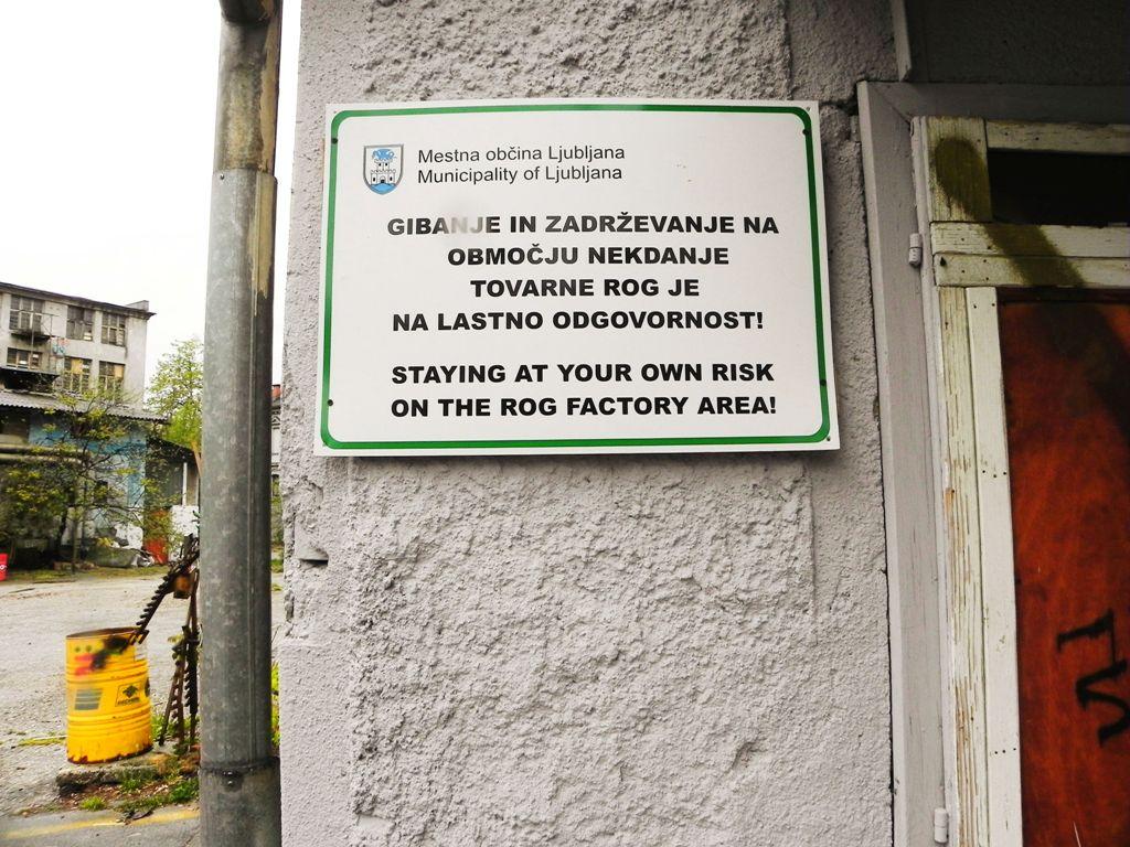 Rog Factory Ljubljana