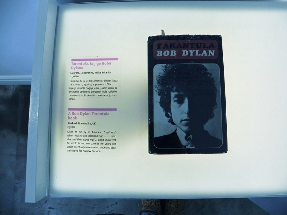 Tarantula Bob Dylan - Museum of Broken Relationships