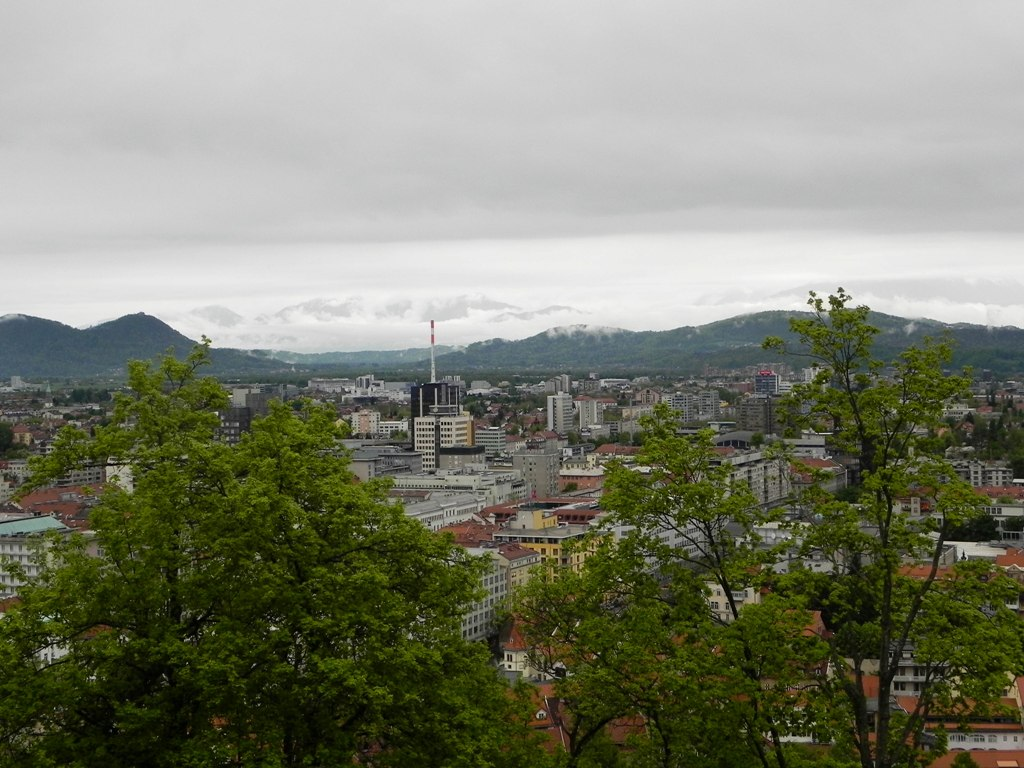 View from the Ljubljana castle