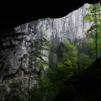 Skocjan caves in Slovenia