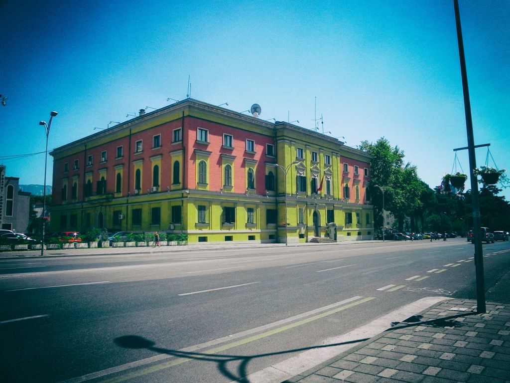 Tirana architecture