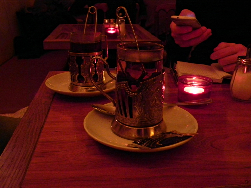 Russian tea Gorki park Berlin