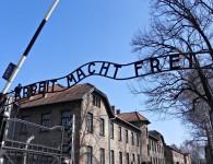 Auschwitz entrance