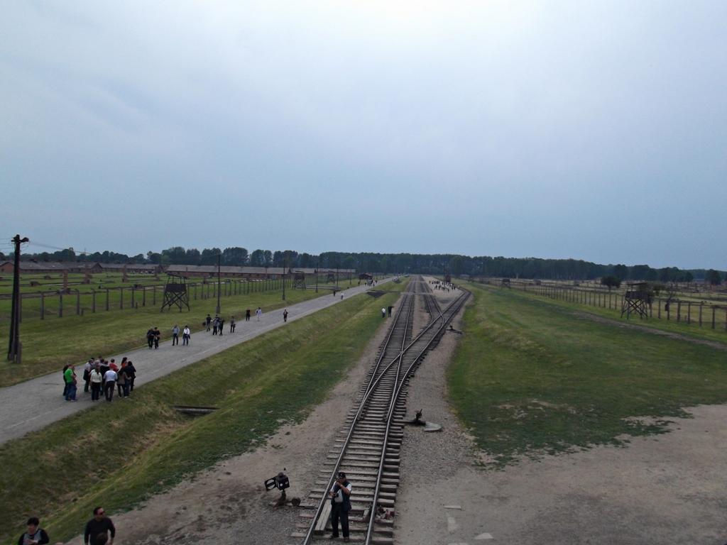 Birkenau complex in Auschwitz