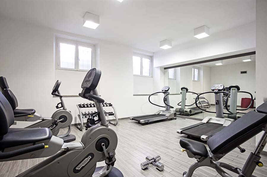 Trianon Borgo Pio apartments fitness gym