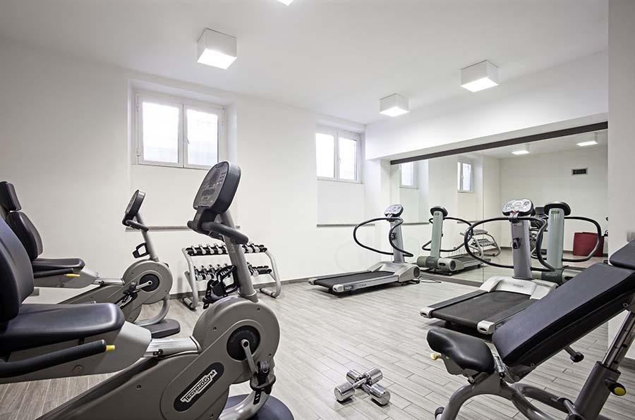 Trianon Borgo Pio apartments fitness gym