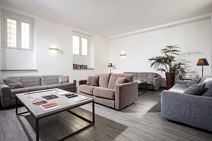 Trianon Borgo Pio apartments living room