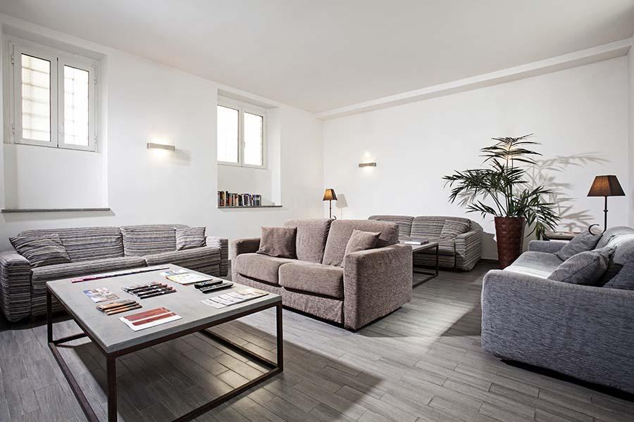 Trianon Borgo Pio apartments living room