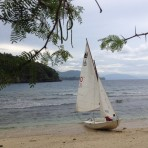 Nico's Sailboat In The Philippines
