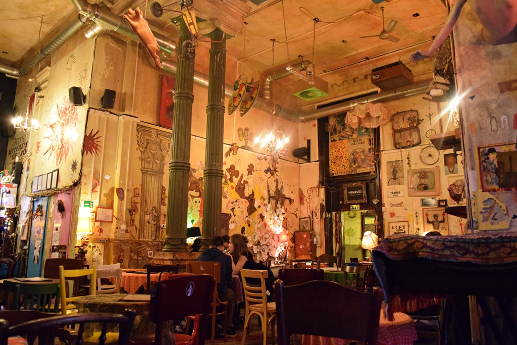 Budapest Ruin Bars - interesting things to see and do in budapest
